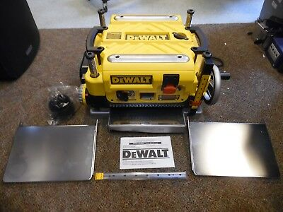 "DeWalt DW735X 13"" Three Knife, Two Speed Thickness Planer"