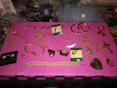 lot of jewerly vintage to new--avon