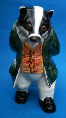 """Rye Cinque Ports Pottery Country Gentleman Figure """"lord William Badger"""""""