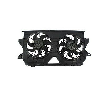 Dual Radiator and Condenser Fan Assembly fits 2005-2007 Dodge Caravan Caravan,Gr