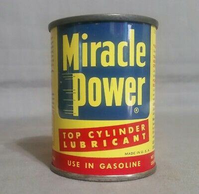 Miracle Power Oil Can Bank