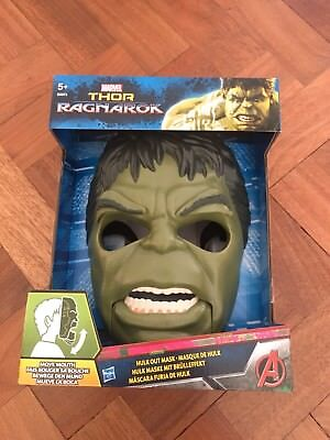 Marvel Thor: Ragnarok Hulk Out Mask  NEW