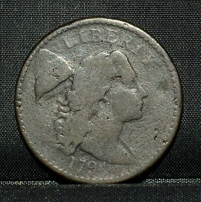 1794 Large Cent ✪ Vg Very Good ✪ 1C Flowing Hair L@@k Now Details G22 ◢Trusted◣