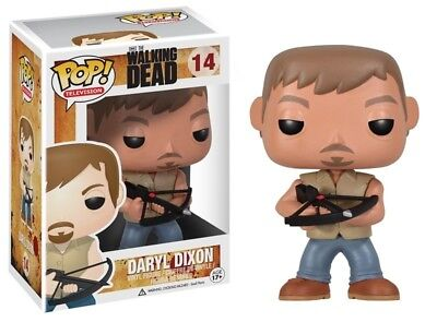 Funko POP! TV The Walking Dead AMC #14 Daryl Dixon w/ Bow Vinyl Figure Neu/Ovp