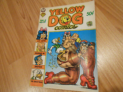 Yellow Dog # 13 strict VF artist R.Crumb, S.Clay Wilson and Jay Lynch!