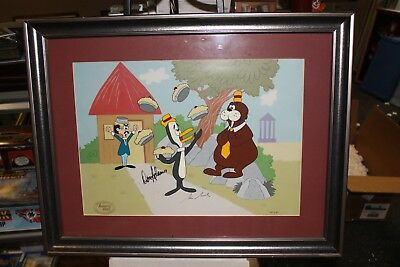 Tennesee Tuxedo And Chumley Autographed Lt Ed Cel