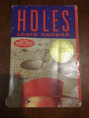 Holes by Louis Sachar (2000, Paperback) USED