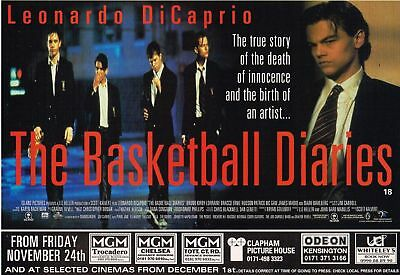 The Basketball Diaries 1995 Advert Original Movie Magazine Film Ad