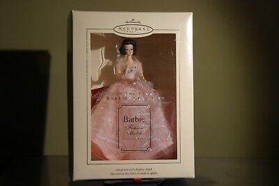2003 Hallmark In the Pink Barbie ornament Fashion Model Collection