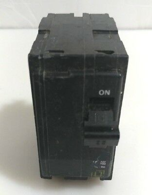 Square D QO225 25 Amp 240 Volt 2 Pole Circuit Breaker TYPE QO