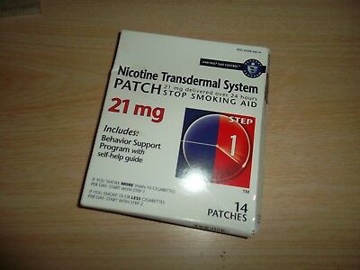 Habitrol Nicotine Transdermal System Patch Step 1 - 21Mg - 14 Patches  02/1019.