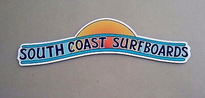 COAST SURFBOARDS Vintage Retro Sticker Decal 1960s 70s AUSTRALIA SURFER SURF