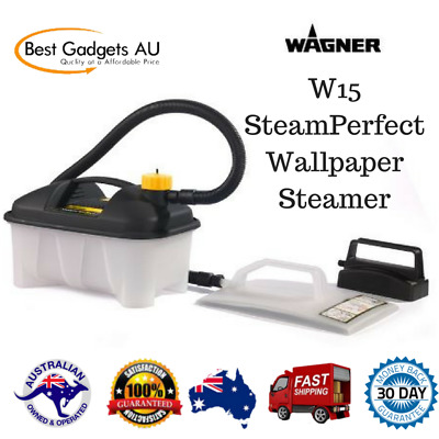Wagner W15 SteamPerfect Wallpaper Steamer Wallpaper Removal Home Office NEW