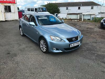 57 Lexus IS 220d 2.2TD SE BLUE WITH FULL SERVICE HISTORY