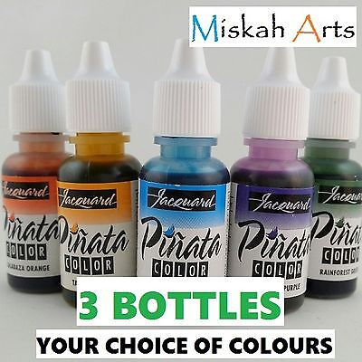 JACQUARD PINATA Alcohol Inks 14ml -  3 BOTTLES  -  You choose the colours!