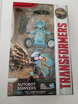 Transformers The Last Knight Deluxe Premier Edition Autobot Sqweeks