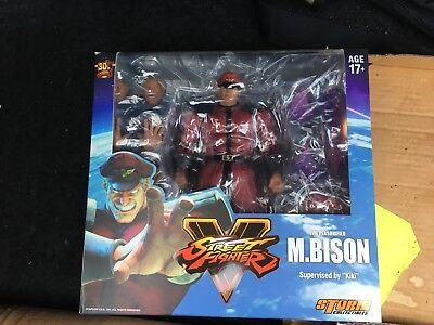 Storm Collectibles Street Fighter V M. Bison Used