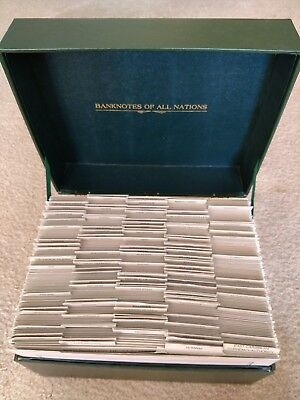 Banknotes of All Nations Collection, 127 Notes Total with Stamps (Z-0121)