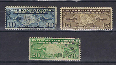United States 1926 Airmail SG A628-30  Used