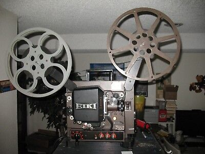 Eiki 16Mm Nt-0 Film Projector Sound Super 16 50Mm Lens Take-Up Reel Extra Bulbs