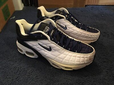 more photos 3b9d8 b3edc Vintage 2000 Nike Air Max Tailwind Sneakers TN  104221-141  Men s Size 7.5