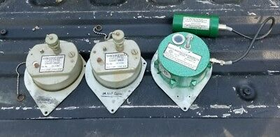 LOT of 3 Sonceboz Chart Drive Clocks Oil Gas Water ESTATE