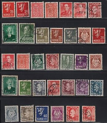 Norway page of early stamps #2