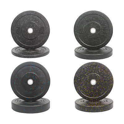 Bumper Plates,100kg Integrated Bumper Plates Package, Stainless Steel Inner Ring