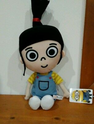 """NEW AGNES DESPICABLE ME 3 PLUSH Collectible """"it's so FLUFFY!"""""""