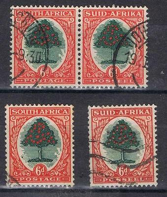 South Africa 1933 1948 6d  SG 61  Used