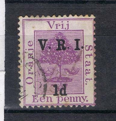 South Africa Orange Free state 1900 1d on 1d SG 113 Used