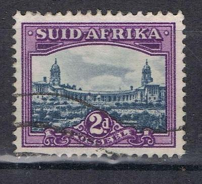 South Africa 1950 2d Union Buildings SG 134 Used