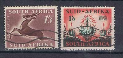 South Africa 1953 1/3, 1/6 SG 147-48 Used