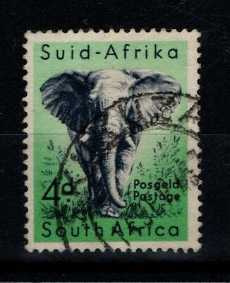 South Africa 1954 4d Elephant SG 156 Used