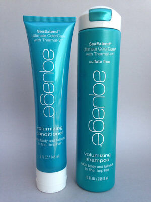 Aquage SeaExtend Volumizing Shampoo 10 oz & Conditioner 5 oz FREE SHIP FAST