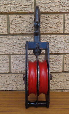 Large Sturde/anchor, Double Pulley, Made In Australia