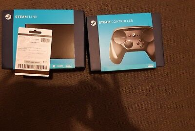 Steam link + steam controller and 20 dollar steam card never used