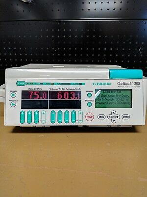 B.Braun Outlook 200 Safety Infusion Pump 620-200