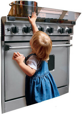 Baby Stove Guard Safety Protection Home Kitchen Barrier Heat Resistant Shield