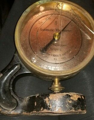 Louis Schopper Leipzig digital micrometer100% authentic piece Made in Germany