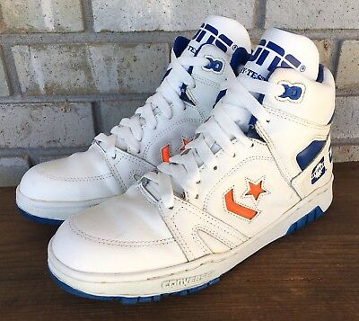 Vtg Converse Cons Hy Test High Top Basketball Sneakers Shoes Men's 8.5 Steel Toe