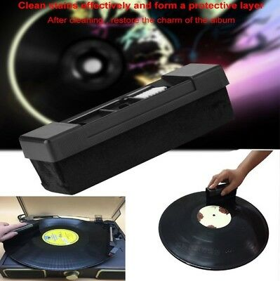 DEEP CLEAN VINYL RECORD CLEANING FLUID & CARBON BRUSH CLEANER PACK Free Postage
