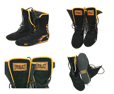 Everlast Everlight Fire Black Suede Boxing / MMA - Boots / Shoes EUR 40 AU 6