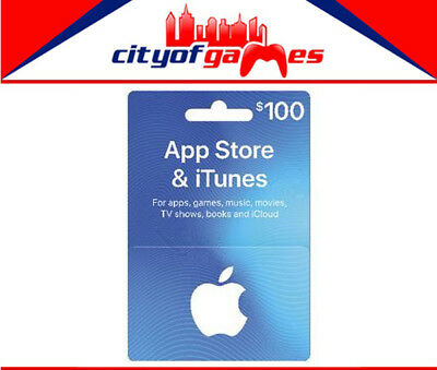 App Store & iTunes Gift Cards $100 Brand New