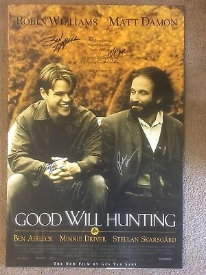 Good Will Hunting Cast Signed Original Movie Poster 27x40