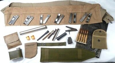 Lot of Original WWII U.S. M1903A3 & A4 Springfield Tools and Accessories