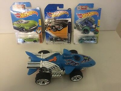 Hot Wheels, Toy State. Light, Sounds, Movement. Plus 3 x Hot Wheels Cars