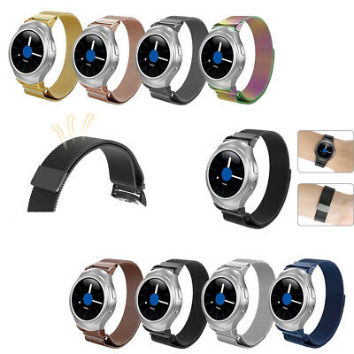 Metal Loop Adjustable Stainless Steel Wristband For Samsung Gear S2 SM-R720