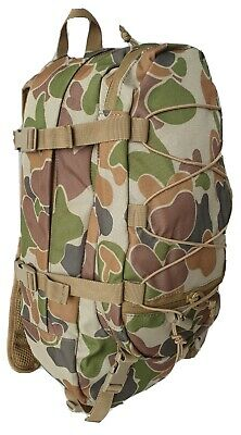 Hydration Organiser Auscam Military Backpack 10Lt Cargo #free! 2Lt Bladder - Tas