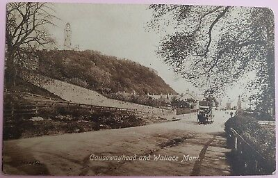 causewayhead and wallace mont. postcard